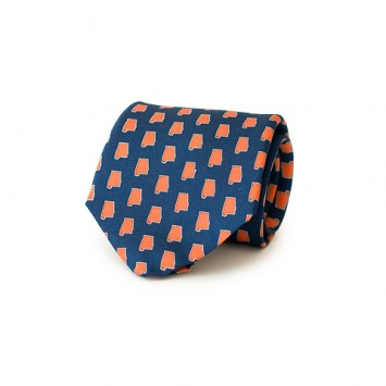 Navy AL Gameday Tie